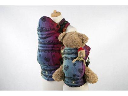 LennyLamb nosítko na panenky Rainbow Lace Dark