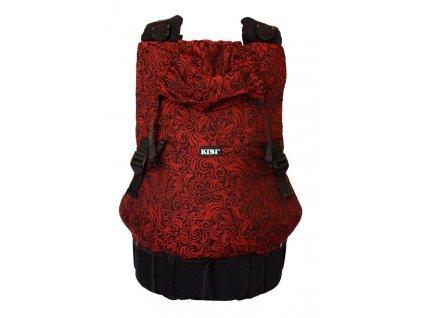 ergonomické nosítko KiBi Flora Red Velvet