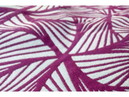 Yaro Magnetic Contra Purple White Wool Glam