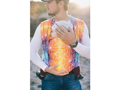 Lenka šátek Pavučinka Východ Slunce
