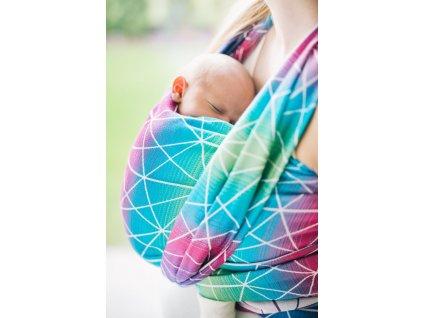 Lenka šátek Pavučinka Galaxy