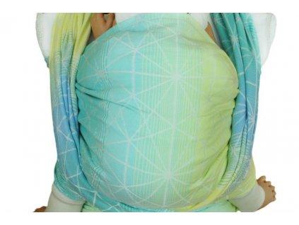 Lenka šátek Pavučinka Karibik