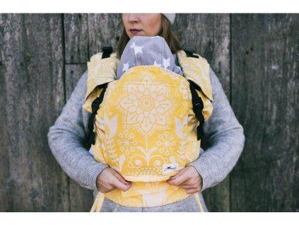 Lenka nosítko 4ever Folk Žluté