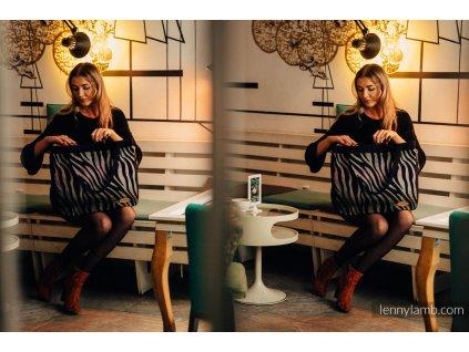 LennyLamb kabelka My World Zebra Shade Of Accacia