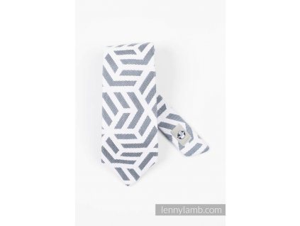 LennyLamb kravata Basic Line Pearl