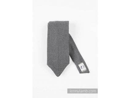 LennyLamb kravata Basic Line Graphite