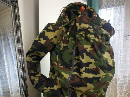 Lenka Softshellová bunda 3 v 1 Army NOVÁ
