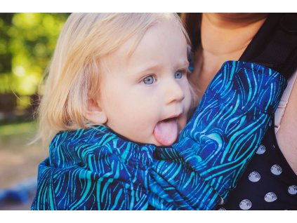 KiBi ochranné návleky Batik blue