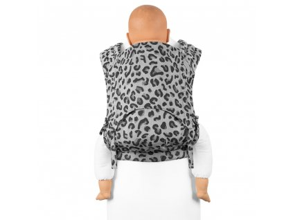Fidella FlyTai Toddler size Leopard Silver