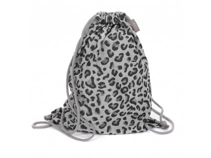 Fidella Bag Leopard Silver