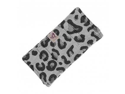 Fidella ochranné návleky Leopard Silver