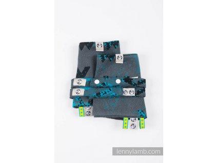 LennyLamb ochranné návleky Wawa Grey & Blue