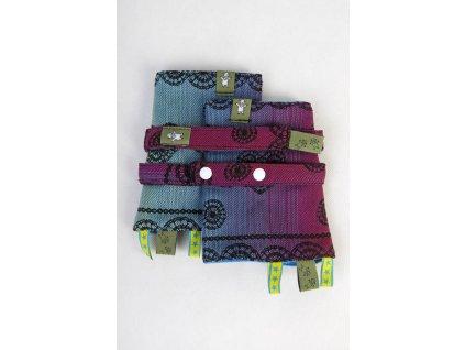 LennyLamb ochranné návleky Rainbow Lace Dark