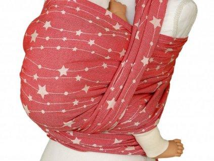 Lenka šátek Hvězdy Červené
