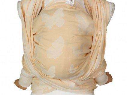 Lenka šátek Motýli Pastel