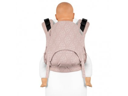 fusion v2 fullbuckle baby carrier paperclips ash rose toddler