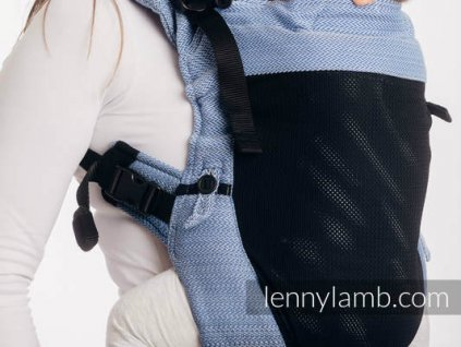 LennyLamb LennyUpGrade Mesh Little Herringbone Ombre Blue