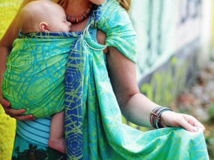 Beloved Ring Sling Green Abyss