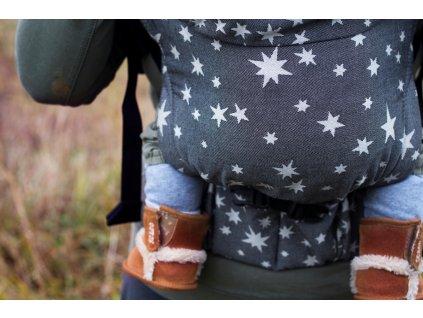PŮJČOVNA MoniLu UNI Start nosítko Coal Stars