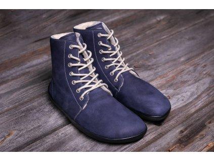 Barefoot kotníkové Be Lenka Winter Marine
