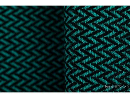 LennyLamb Basic Line Herringbone Emerald