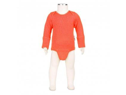 Manymonths body/tričko merino 19 Precious Coral