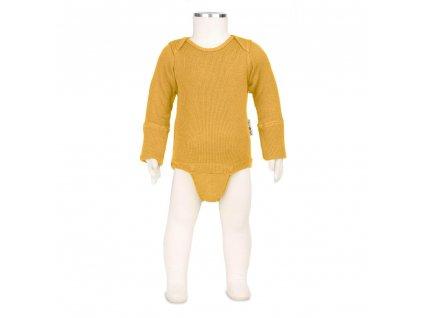 Manymonths body/tričko merino 19 Golden Oat