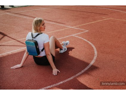 LennyLamb Crossbody kabelka 2v1 Sporty Big Love Atmosphere