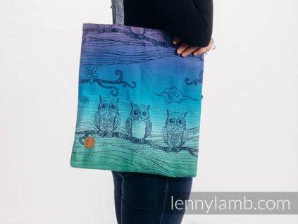 LennyLamb Nákupní taška Bubo Owls Dusk