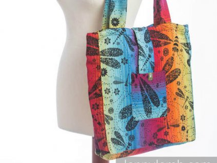 LennyLamb Shoulder bag - Taška přes rameno Dragonfly Rainbow Dark