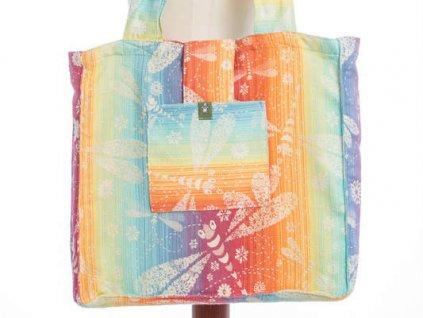 LennyLamb Shoulder bag - Taška přes rameno Dragonfly Rainbow