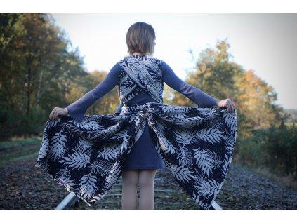 Yaro Oasis Puffy Dark-Blue Alpaca Wool Blend