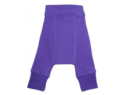 Manymonths vlněné longies Purple Peace