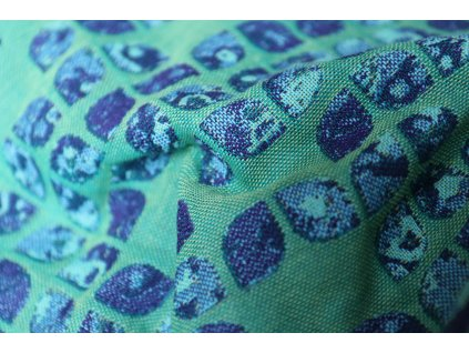 Yaro Ring Sling Petals Ultra Blue Violet Green Seacell