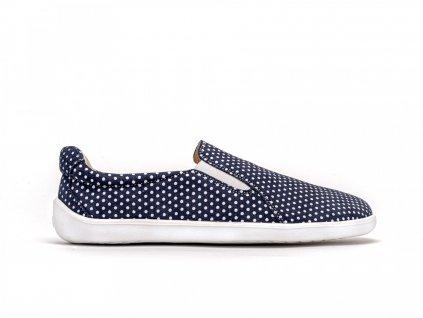 Barefoot Be Lenka Eazy - Dark Blue with Dots