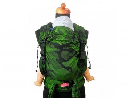 Moisha novorozenecké nosítko HuGo Green Cammo