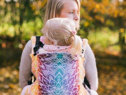 Nosítko Be Lenka Toddler Mandala - Night