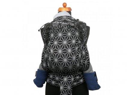 Moisha novorozenecké nosítko HuGo Geostar Black