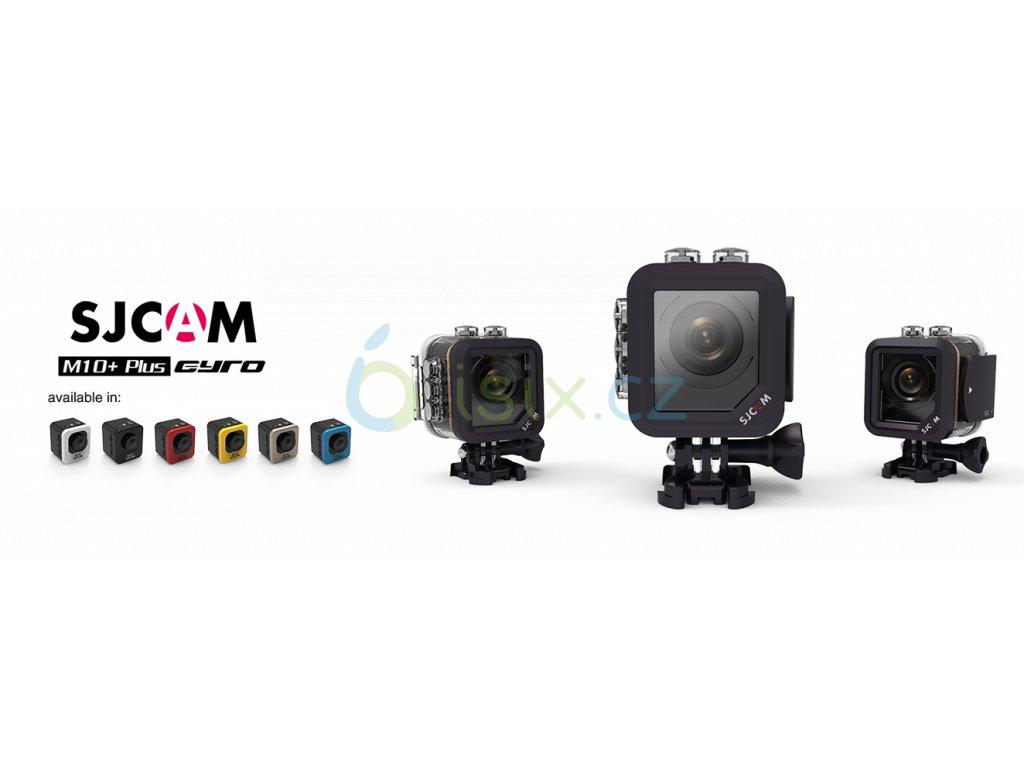 SJCAM M10 Plus sportovní kamera černá CZ menu  , ZDARMA GARANCE VYŘEŠENÍ REKLAMACE DO 24 HODIN + VELKÁ TLAČÍTKA NA VODOTĚSNÉM OBALU