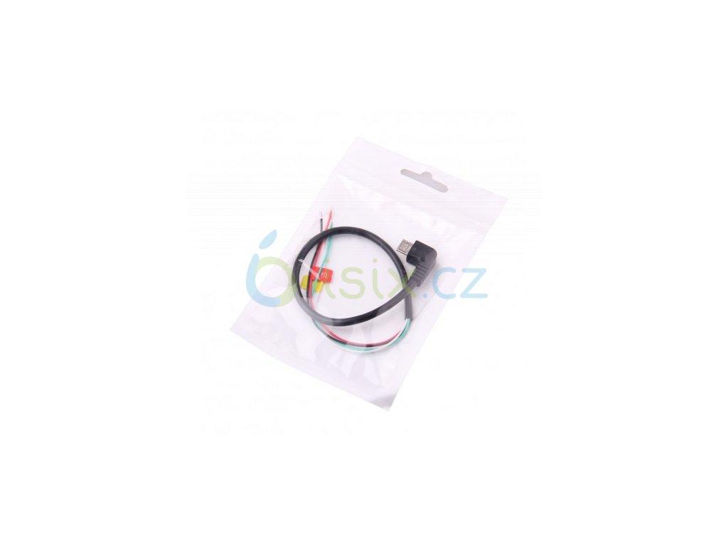 Micro USB sjcam av kabel - fpv serial cable (seriový výstup pro sjcam určeno pro fpv)