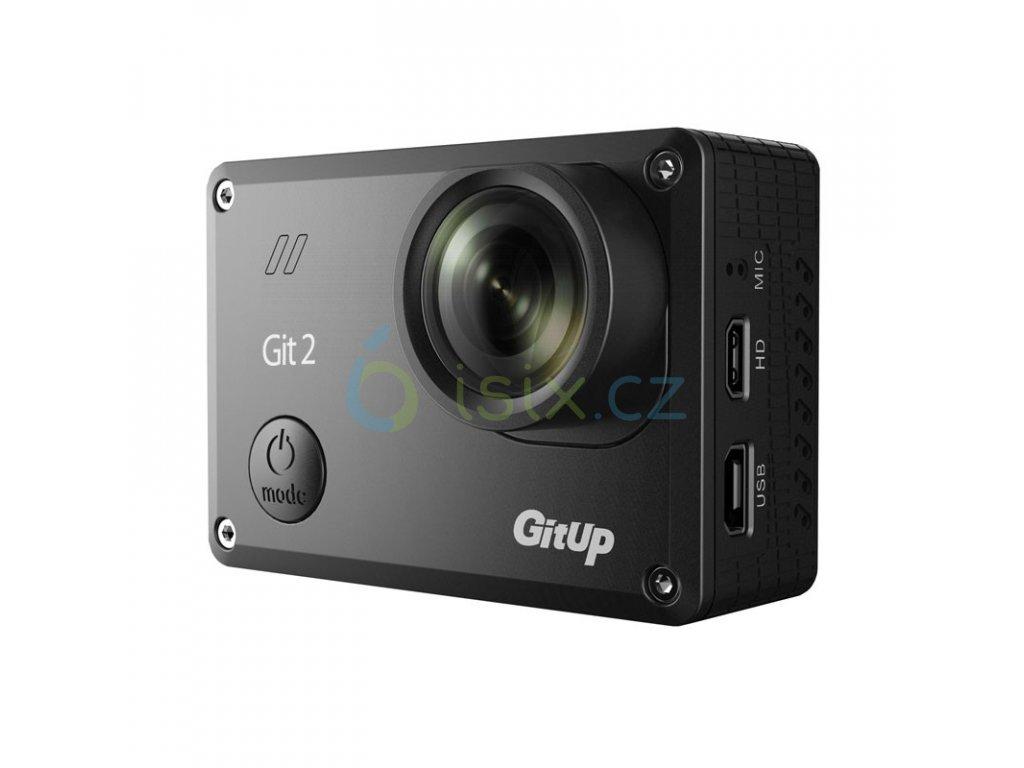 Sportovní kamera GitUp™ GIT2 Oficiální distribuce!  Pro Packing s českým menu ZDARMA GARANCE VYŘEŠENÍ REKLAMACE DO 24 HODIN + ZDARMA držák na hruď