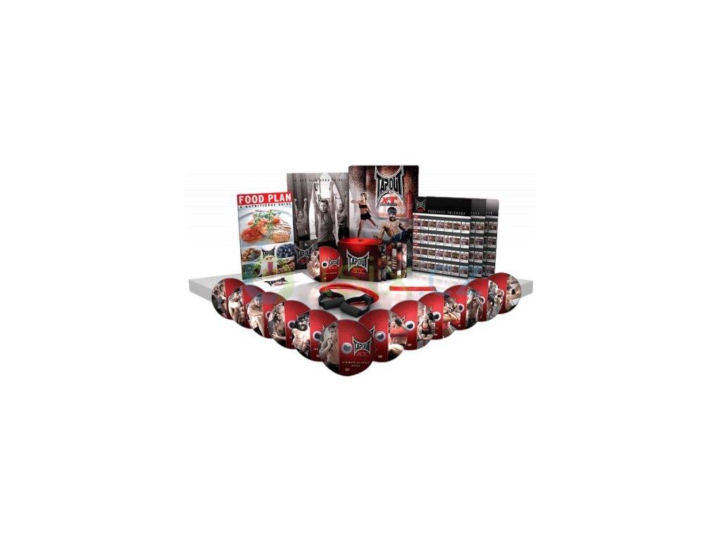 TapouT XT Specialní XT kompletní serie s workoutem na nohya - 12 DVD a 1 Bonusové DVD