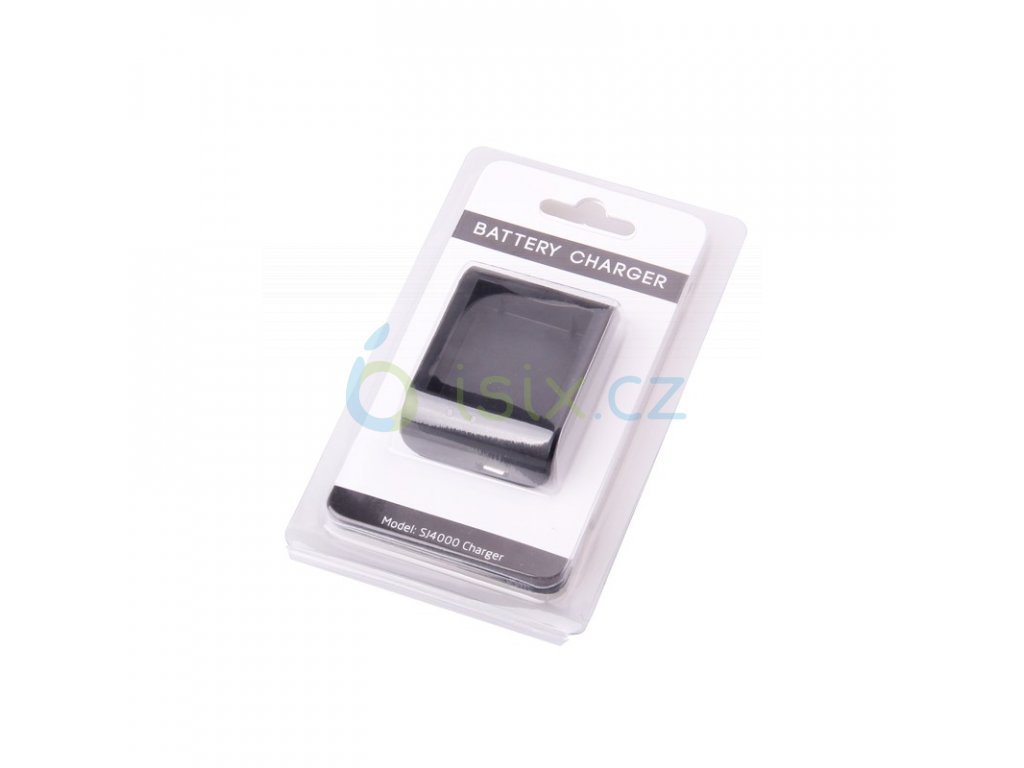 externí nabíječka pro jednu baterii od SJCAM se signalizací nabíjení i nabití