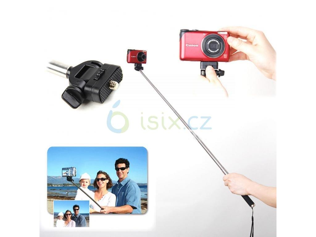 Selfie Stick bez držáku na mobil pro gopro nebo sjcam
