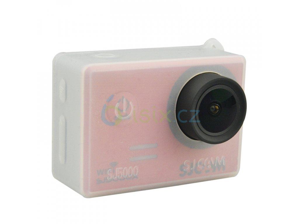 Silikonový protiskluzový ochranný obal s poutkem pro sjcam řady SJ4000/SJ5000/m10