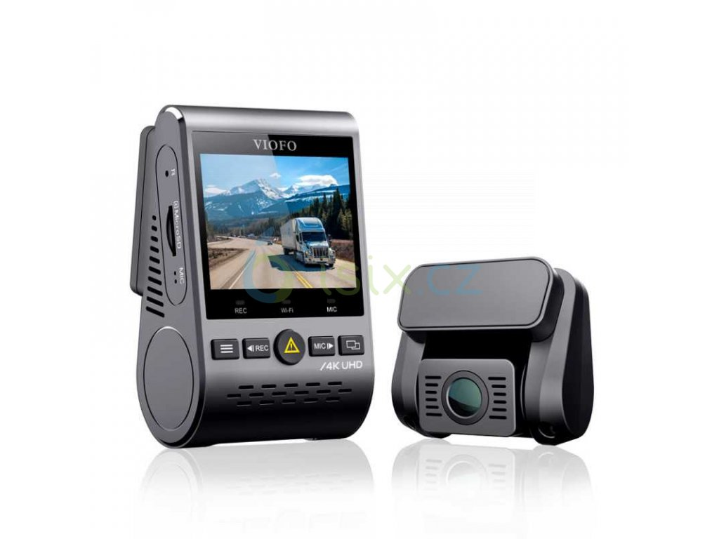 a129pro duo ultra 4k front full hd 1080p rear dual channel wi fi dash camera