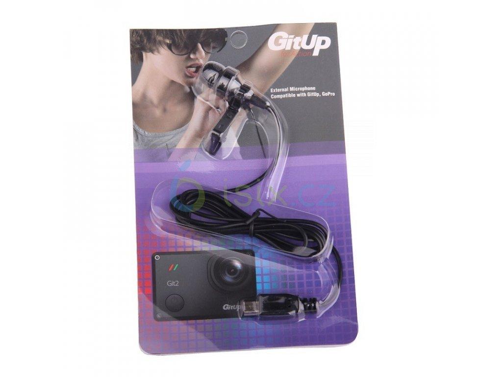 external microphone for gitup git1git2g3f1 wifi action camera