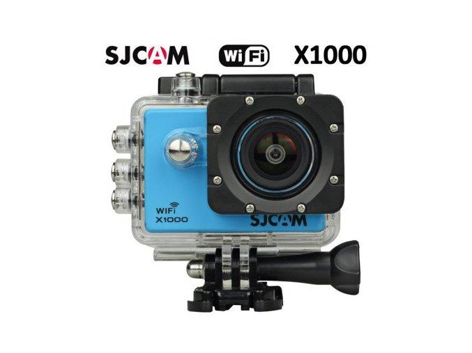 SJCAM X1000 WIFI 2.0´´LCD H.264 CZ MENU SPORTOVNÍ KAMERA