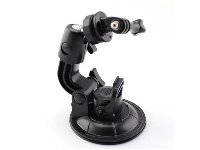 Přísavka do auta pro GoPro HERO nebo sjcam případně magicam Velká 9cm s odsáváním vzduchu