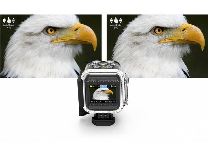 SJCAM M10 sportovní kamera černá CZ menu, ZDARMA GARANCE VYŘEŠENÍ REKLAMACE DO 24 HODIN  + Velká tlačítka na vodotěsném obalu